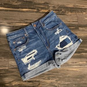 American Eagle Super Hi Rise Shortie